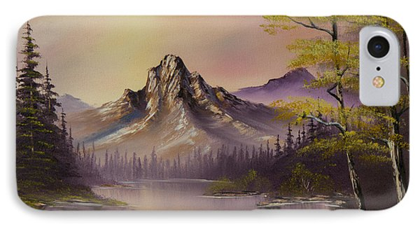 Luminous Lake Phone Case by C Steele