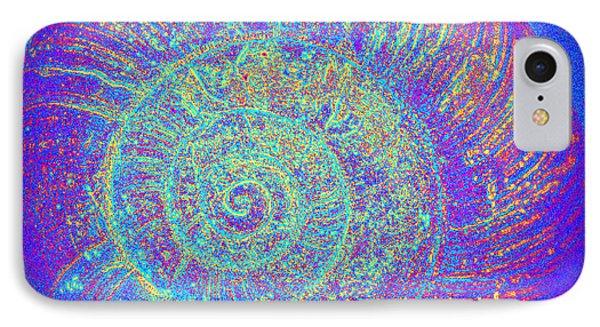 Luminous Snail  IPhone Case by Kelly Nowak