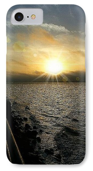 IPhone Case featuring the photograph Luminous Sunrise Of Hope by Joetta Beauford