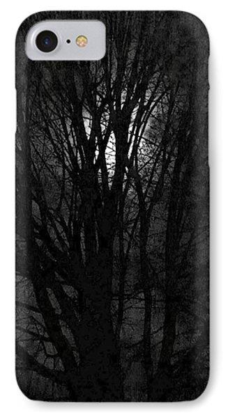Luna Lit Trees IPhone Case by Bruce Carpenter