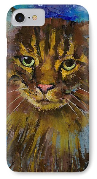Luna IPhone Case by Michael Creese