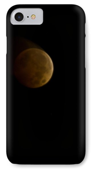 Lunar Blood IPhone Case by Michael Nowotny