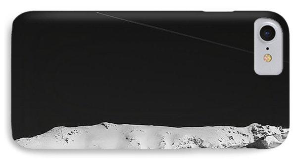 Lunar Landscape IPhone Case by Simona Ghidini