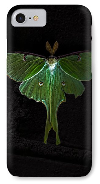 Lunar Moth Phone Case by Bob Orsillo