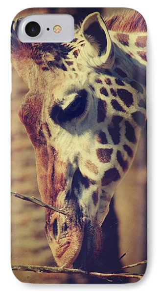 Lunchtime Twigs Phone Case by Laurie Search