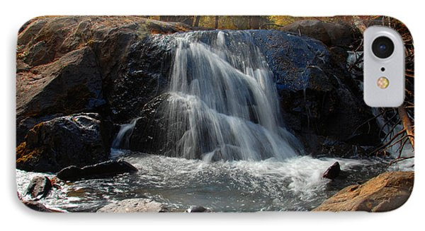 IPhone Case featuring the photograph Lundy Creek Cascades by Lynn Bauer
