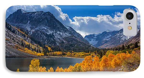 Lundy Lake IPhone Case by Tassanee Angiolillo