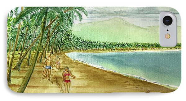 Luquillo Beach And El Yunque Puerto Rico IPhone Case by Frank Hunter