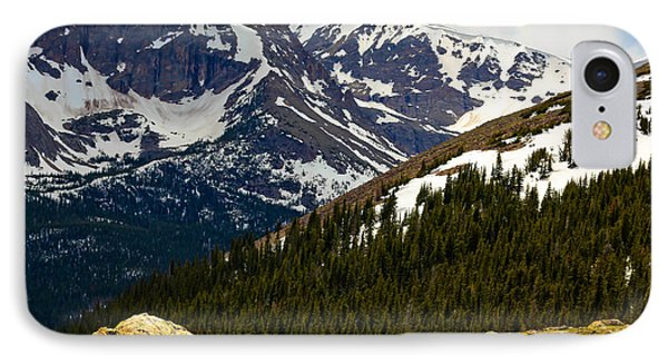 IPhone Case featuring the photograph Lure Of The Mountain by Everett Houser