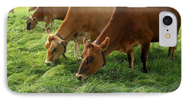 Luscious Grass For Delicious Milk IPhone Case