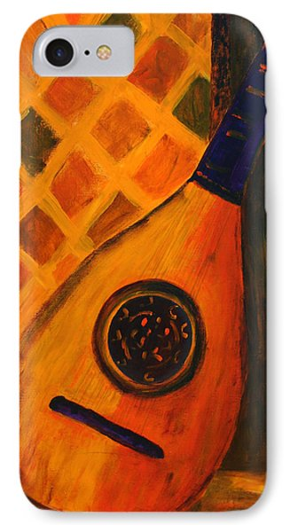 Lute By The Window  Phone Case by Oscar Penalber