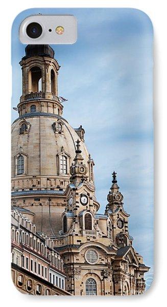 Lutheran Church In Dresden Phone Case by Jelena Jovanovic