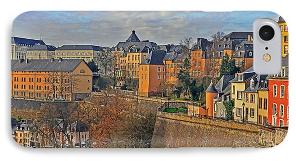 Luxembourg Fortification IPhone Case