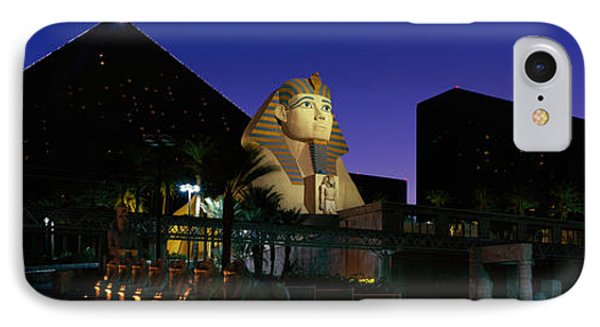 Luxor Hotel Las Vegas Nevada Usa IPhone Case by Panoramic Images