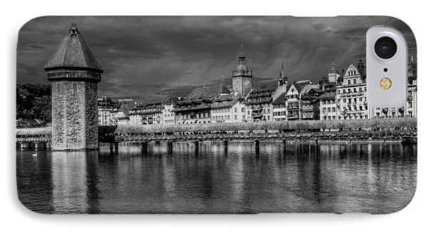 Lucerne Reflected IPhone Case by Carol Japp