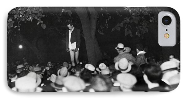 Lynching Of A Murderer IPhone Case by Underwood Archives