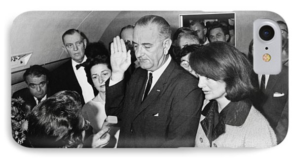 Lyndon Johnson Sworn In IPhone Case