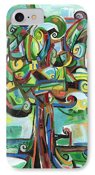 Lyrical Tree IPhone Case