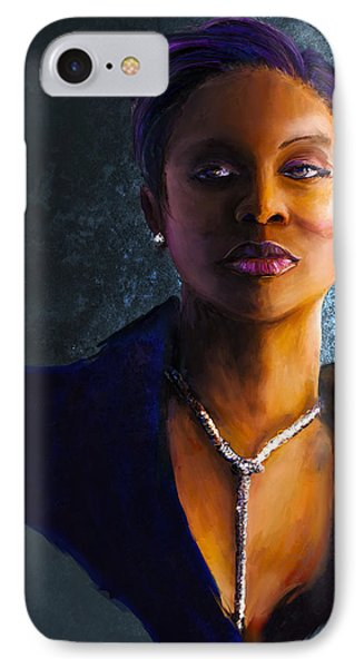 Lyte As A Rock IPhone Case by Howard Barry