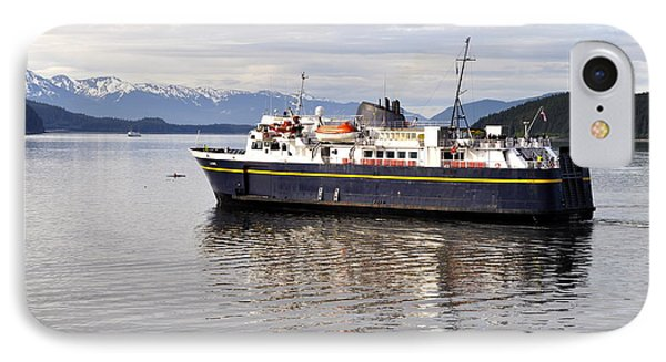 IPhone Case featuring the photograph M/v Leconte by Cathy Mahnke