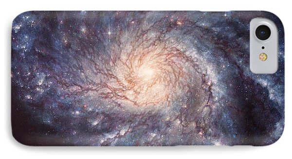 M101 Pinwheel Galaxy IPhone Case