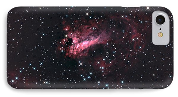 M17 The Swan Nebula Complex IPhone Case by John Chumack
