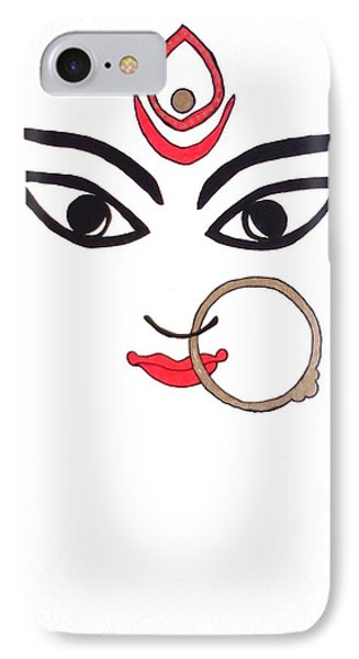 Maa Kali Phone Case by Kruti Shah