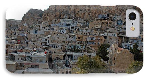 Maalula, Syria IPhone Case by Catherine Ursillo