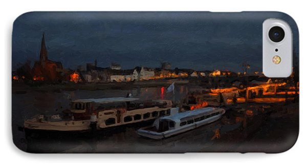 Maastricht Nine Days Before Christmas Phone Case by Nop Briex