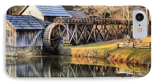 Mabry Grist Mill Fall Panorama IPhone Case