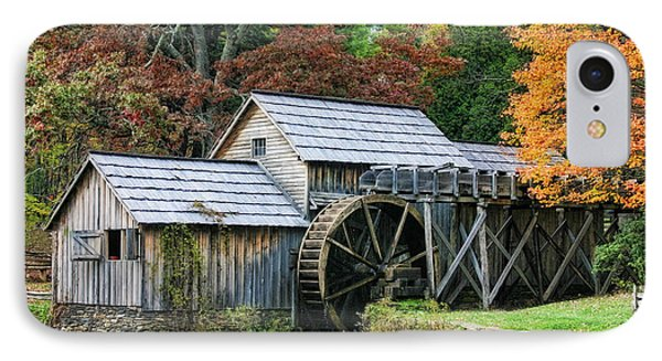 IPhone Case featuring the photograph Mabry Mill II by Joan Bertucci