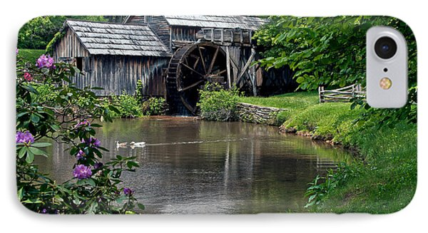 IPhone Case featuring the photograph Mabry Mill In May by John Haldane