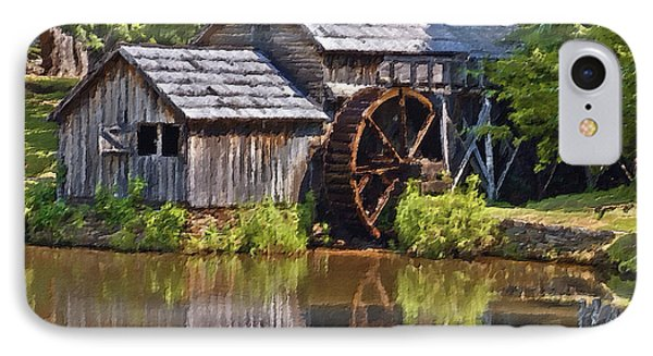 Mabry Mill In Summer IPhone Case by Patrick M Lynch
