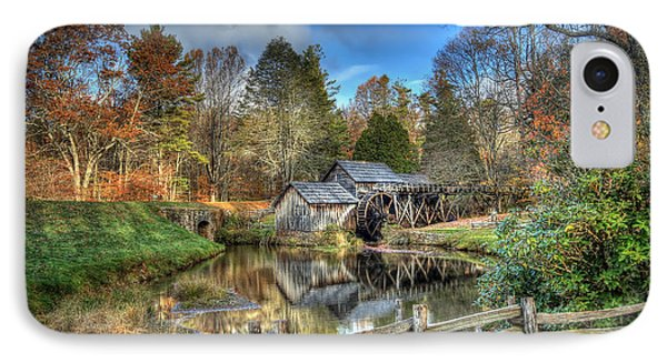 Mabry Mill IPhone Case by Jaki Miller