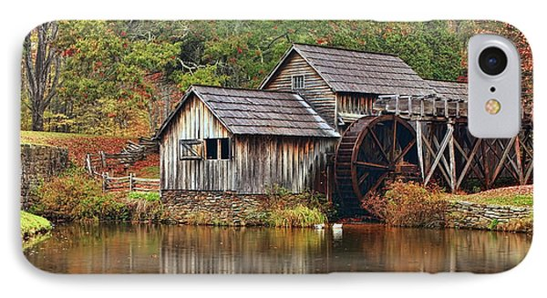 Mabry Mill Phone Case by Marcia Colelli