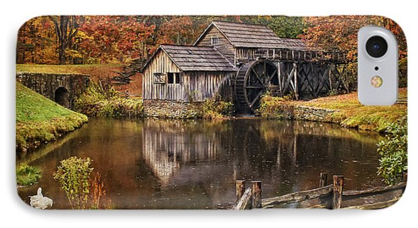 Mabry Mill Phone Case by Priscilla Burgers