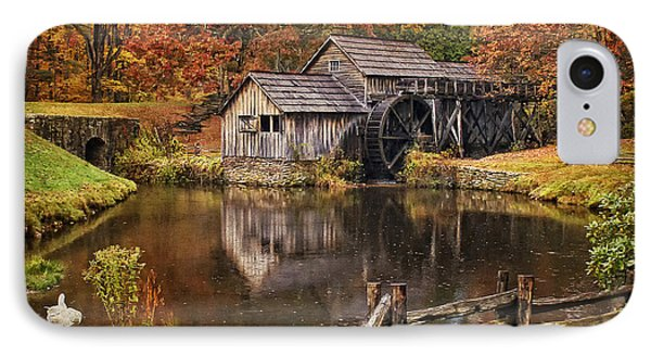 Mabry Mill IPhone Case by Priscilla Burgers