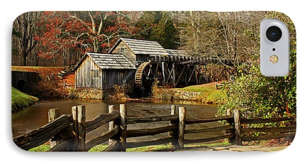 IPhone Case featuring the photograph Mabry Mill by Suzanne Stout