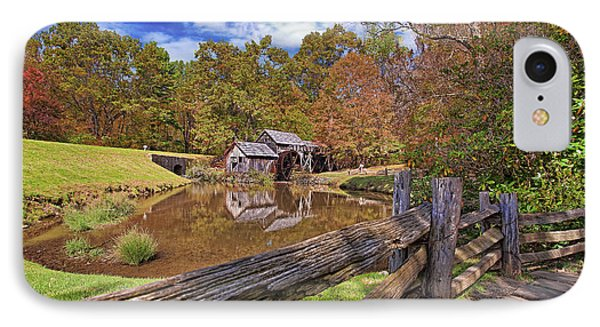 Mabry Mill Virginia Phone Case by Marcia Colelli