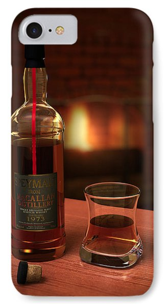 Macallan 1973 IPhone Case by Adam Romanowicz