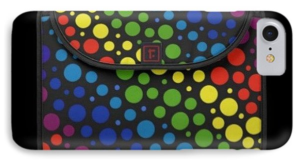 #macbook #cover #rainbow #awesome IPhone Case by Mandy Shupp