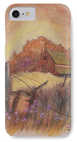 Macgregors Barn Pstl IPhone Case by Carol Wisniewski