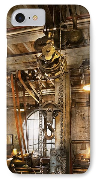 Machinist - In The Age Of Industry Phone Case by Mike Savad
