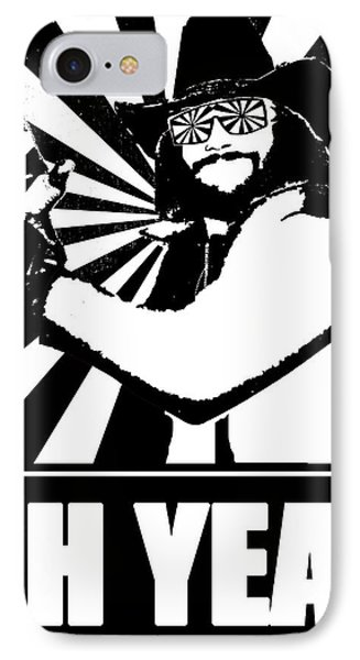Macho Man Randy Savage IPhone Case by Jason Kimble