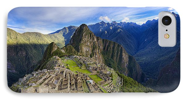 Machu Picchu IPhone Case by Alexey Stiop