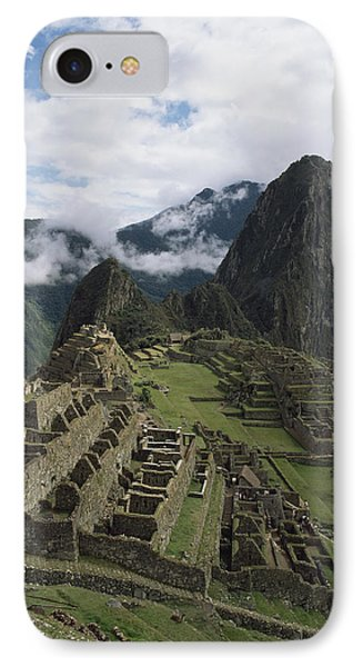 Machu Picchu Phone Case by Chris Caldicott