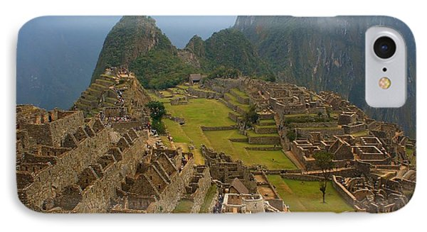 Machu Picchu IPhone Case by Mariusz Czajkowski