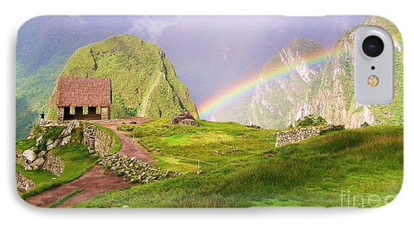 Machu Picchu Rainbow IPhone Case