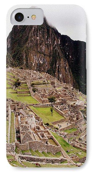 Machu Picchu Phone Case by Ramona Johnston