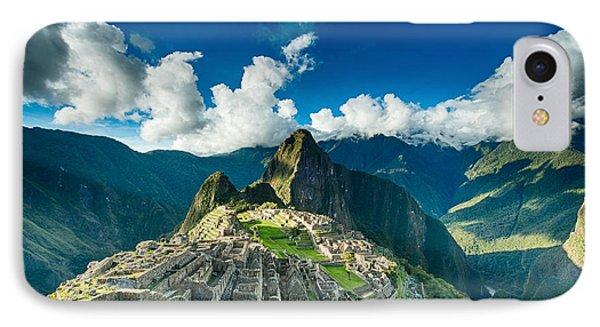 Machu Picchu IPhone Case by Ulrich Schade